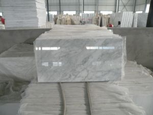 New Statuary White Marble/White Pearl Marble/Cloud White/Bianco Bello/Carrara White Slab/Tile pictures & photos