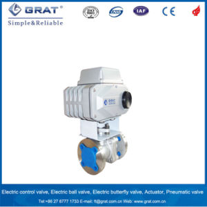 Carbon Steel Full Port Big Size Motorized Ball Valve pictures & photos