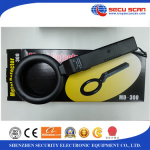 Hand Held Metal Detector MD-300 Human body metal detector with CE and ISO pictures & photos