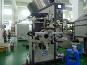 Automatic Cosmetic Cap Foil Hot Stamping Machinery (side printing) pictures & photos