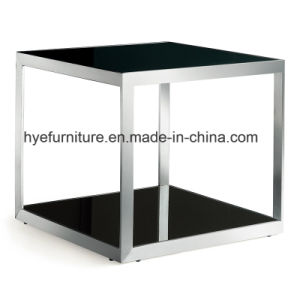 Living Room Leisure Furniture Square Side Table (M073) pictures & photos