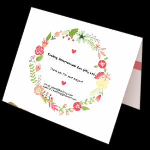 Custom Card/Greeting Cards/Invitation Card/ Wedding Card pictures & photos