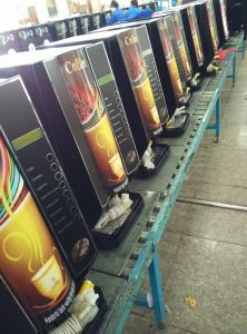 Hot Coffee Vending Machine F305t pictures & photos