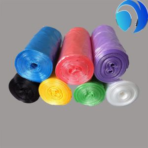 Star-Sealed High Strength Roll Pack Colorful Garbage Bag pictures & photos