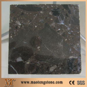 Emperador Dark Artificial Marble Sample Color Man Made Marble Stone pictures & photos