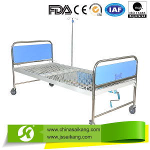 BV Certification Durable Stainless Steel Hospital Bed pictures & photos