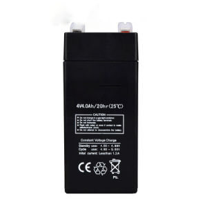 4V 4ah Lead Acid Battery Used for Electric Scale pictures & photos