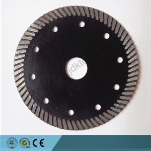 "5"" Turbo Diamond Saw Blade for Cutting Granite Cmasonry Tile pictures & photos"