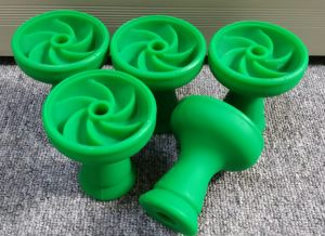 Silicone Cyclone Shisha Bowl for Hookah Carbon pictures & photos
