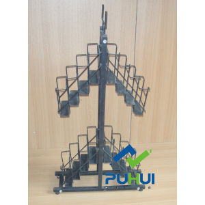 Floor Standing Metal Umbrella Display Stand (PHY2024) pictures & photos