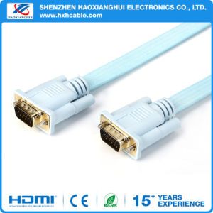 1080P Male to Male 3+6 Pin VGA Cable for HDTV/Multimedia/Display pictures & photos