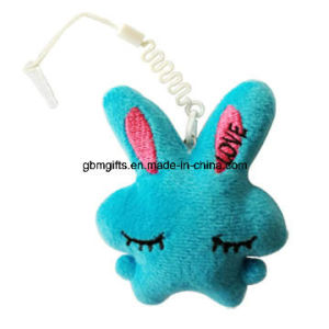 Mini Cheap Plush Animal Keychain Customized Cute Stuffed Soft Rabbit Plush Keychain pictures & photos