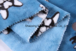Printed Polyester Flannel/Coral Fleece Fabric - 16332-3 1# pictures & photos