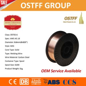 High Strength CO2 MIG Welding Wire Er70s-6 From China Factory