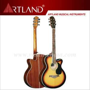 Spruce Top Sapele Back&Side Acoustic Guitar (AG4014C) pictures & photos