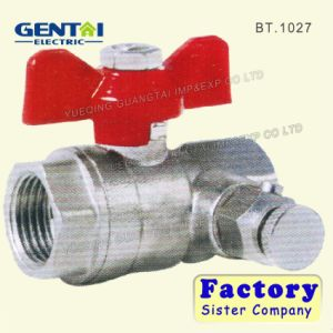 Butterfly Handle Brass Ball Valve with Good Quality pictures & photos