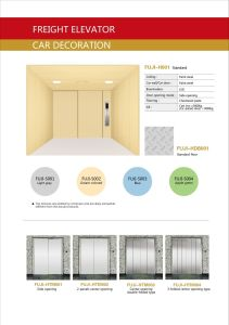 FUJI Cargo Elevator From China Supplier pictures & photos