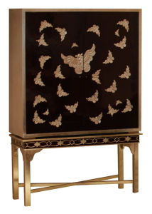 Butterfly Design Cabinet Hotel Furniture pictures & photos