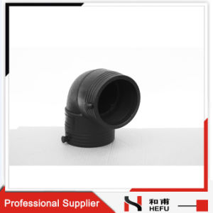 Hose HDPE PE Pipe Fitting Plastic 90 Degree Elbow Manufacture pictures & photos