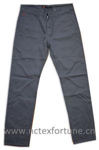 Custom Plain Twill Straight Leg Men′s Cotton Chino Pants