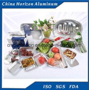 Aluminium / Aluminum Foil Food Container for Freezing pictures & photos