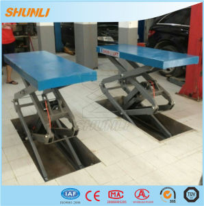 Shunli Hydraulic Small Platform Scissor Lift pictures & photos