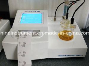 Automatic High Senstive ASTM D6307 Columetric Karl Fischer Titrator pictures & photos
