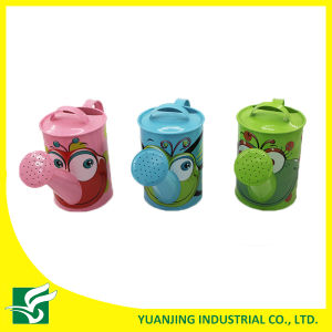 Mini Cartoon Watering Can for Kids Home Garden Decoration pictures & photos