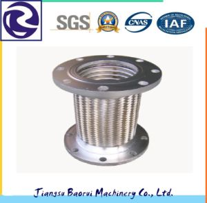 Flange Joint Stainless Steel Wire Braided Flexible Bellows Metal Hose