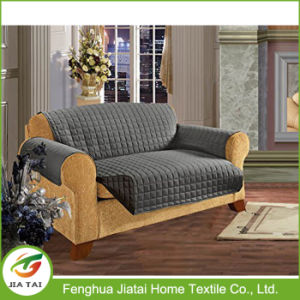 Custom Polyester Reversible Replacement Sloose Sofa Covers Online pictures & photos