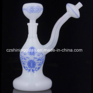 Delicate China Style Smoking Water Pipe Bubbler for Tabacco pictures & photos