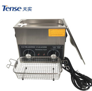 Tense Hot Sale Stainless Steel Ultrasonic Contact Lens Cleaner with 6L pictures & photos