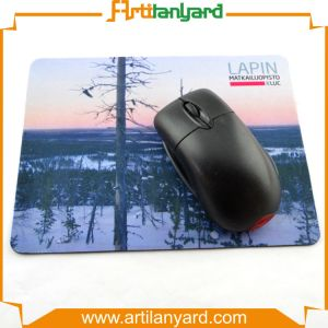 Customized Colorful Rubber PVC Mouse Pad pictures & photos