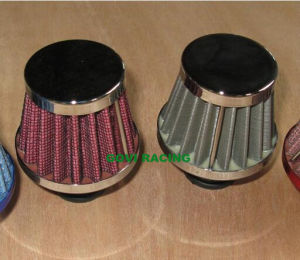 9/12/15mm Small Air Filter with Stainless Steel Red pictures & photos