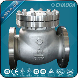 BS1868 Cast Steel Swing Check Valve pictures & photos