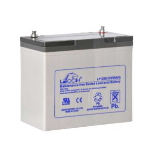 12V 55ah Lead Acid Solar Battery UPS Battery with UL Approved