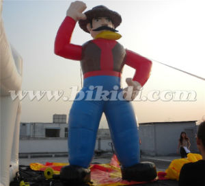 Commercial Inflatable Cowboy Cartoon Balloon Top Quality K2094 pictures & photos