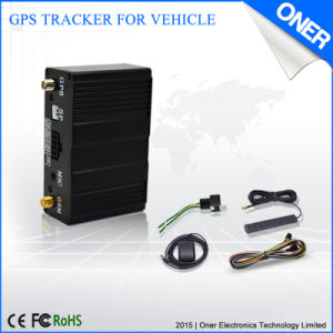 GPS Vehicle Tracker with Fuel Sensor to Check The Fuel Level pictures & photos
