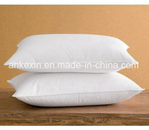 Comfortable 50% Grey Duck Down Bed Pillow pictures & photos