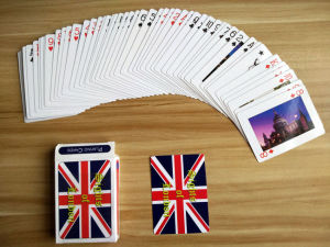 Customized Promotional Paper Poker Playing Cards pictures & photos