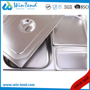Hot Sale Stainless Steel Electrolytic Restaurant Kitchen 1/9 Size Gastro Pan pictures & photos