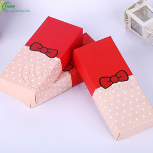Custom Printing Paper Cardboard Packaging Boxes for Socks (KG-PX097) pictures & photos