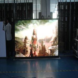 Full Color Indoor Rental P3 Die-Casting Aluminum Moving LED Display Screen pictures & photos