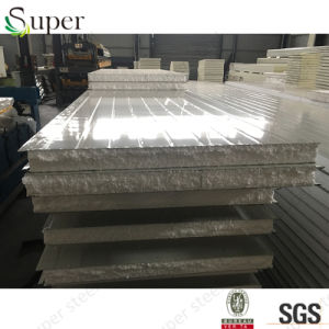 Environmental Building Material EPS Foam Insulated Sandwich Panels pictures & photos
