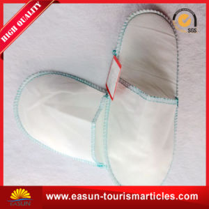 Disposable EVA Non Woven Slippers for Airplane pictures & photos