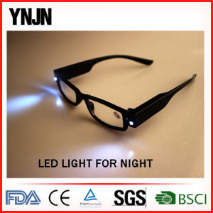 Ynjn High Quality Night Vision with Lights LED Reading Glasses pictures & photos