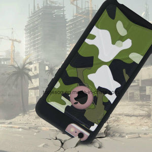 High Quality Camouflage Pattern Deformable Holder Anti Fall Phone Case for iPhone 6/6s/6 Plus pictures & photos