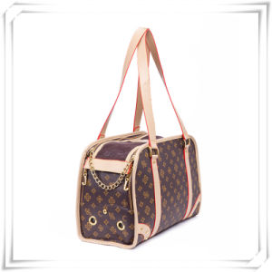 Luxury Leather Pet Carrier Designer Dog Carrier Bags pictures & photos