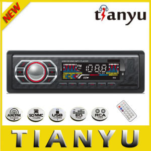 Fixed Panel Car Stereo with LCD Screen 3950 pictures & photos