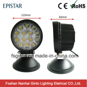 Best Selling Round 42W LED Auto Work Lamps for Trucks pictures & photos
